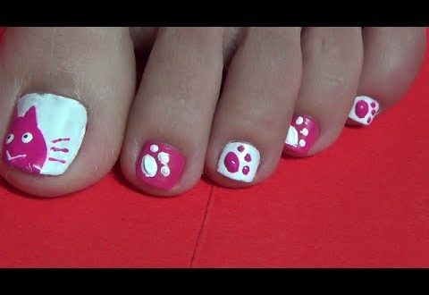 Easy Toe Nail Art Design Using A Toothpick Cute Cat Pet Care Tips How To Care Your Pets