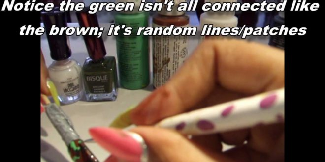 Camouflage Army Nail Design Tutorial by Cat @catrionaakacat